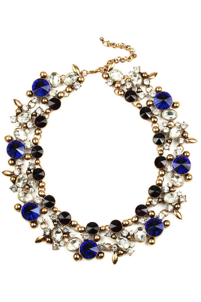Alta Necklace - Blue