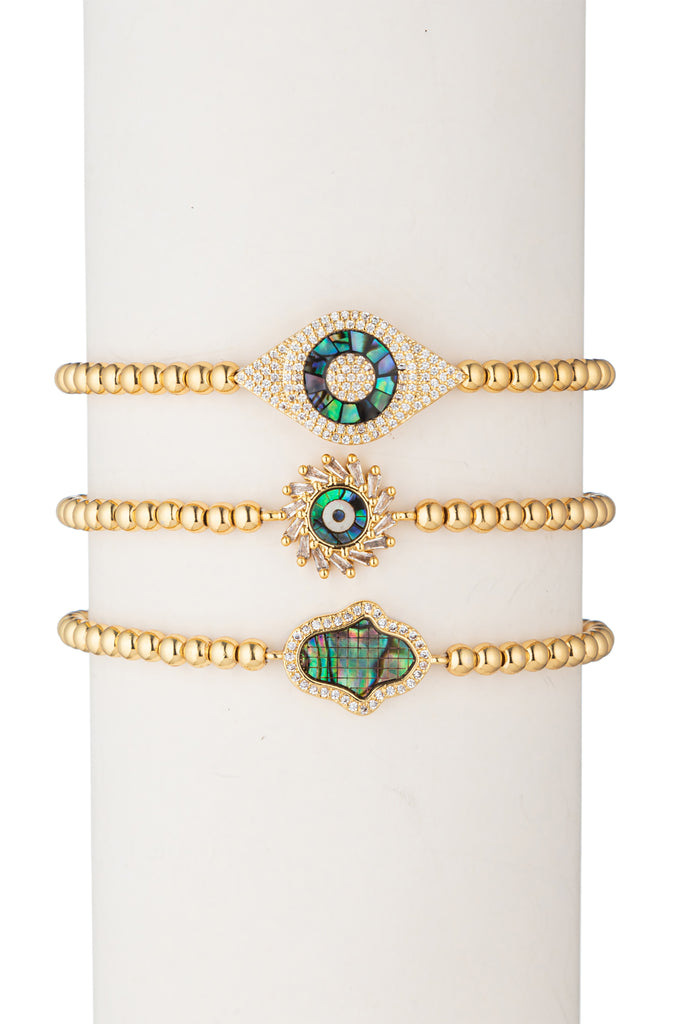 Dina Beaded Bracelet Set