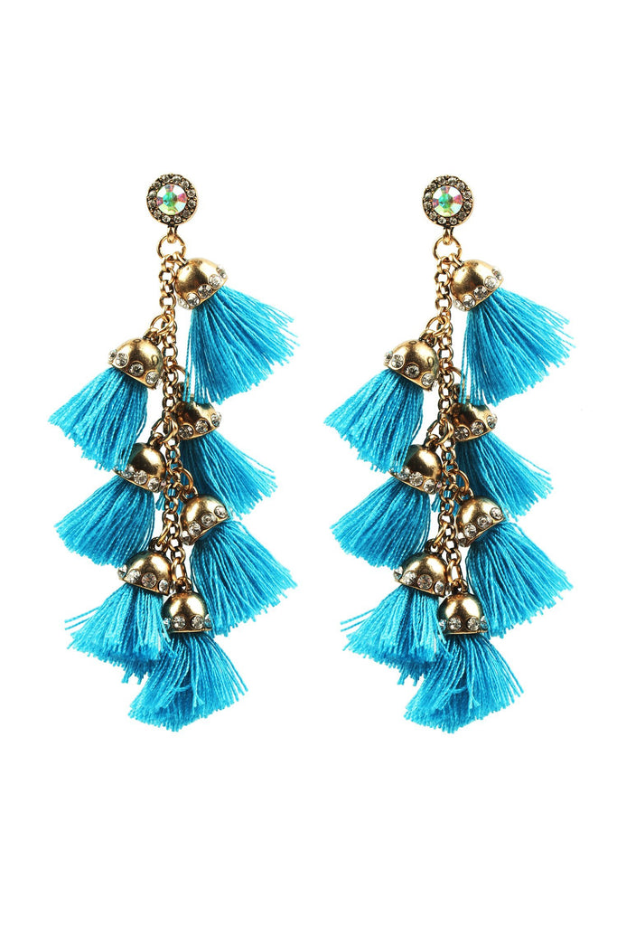 Barcelona Earrings - Teal