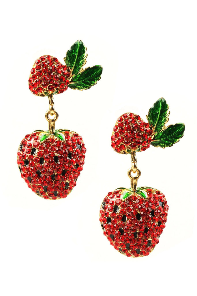 Fraise Earrings