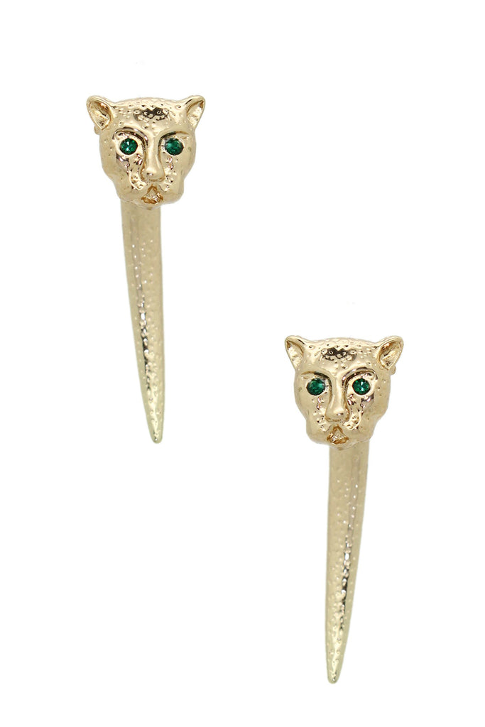 Panthera Earrings - Gold