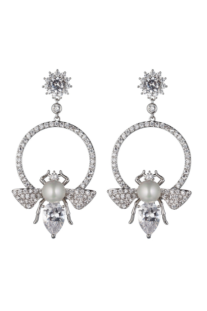 Abeille Earrings - Silver