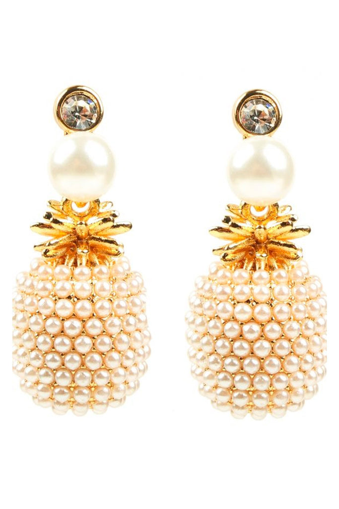 Penna Earrings - Pearl