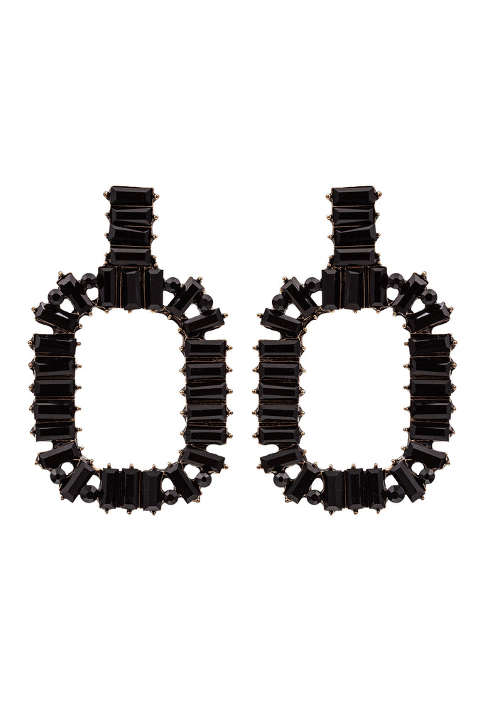 Zahara Earrings - Black
