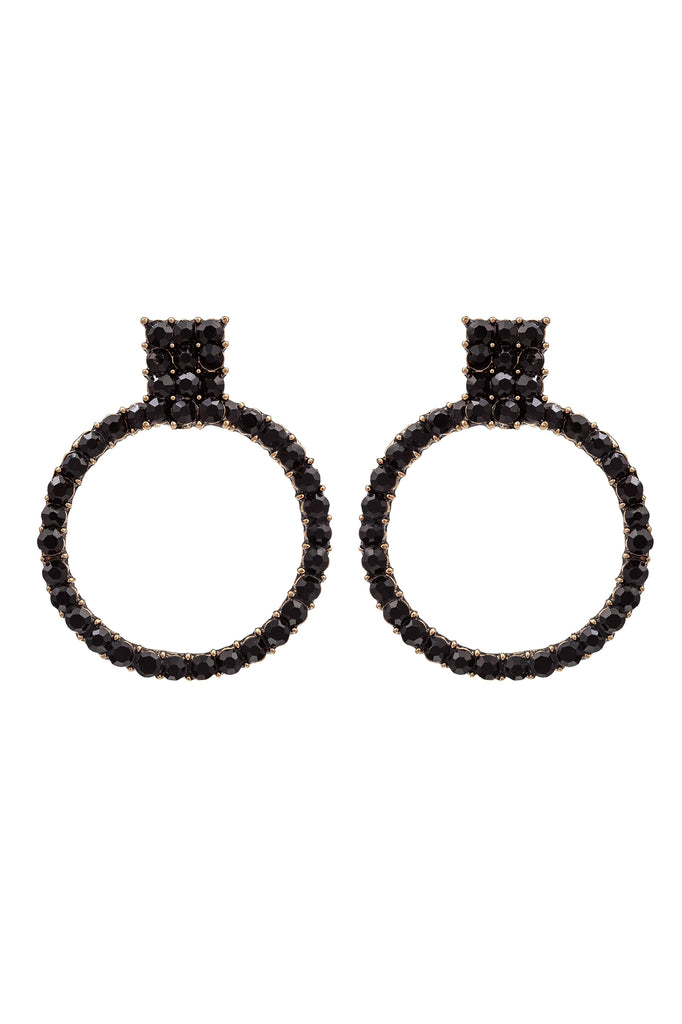 Allegra Earrings - Black