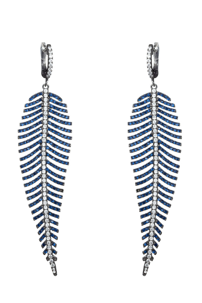 Caleen Earrings - Blue