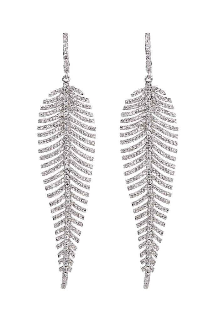 Caroline Earrings - Silver