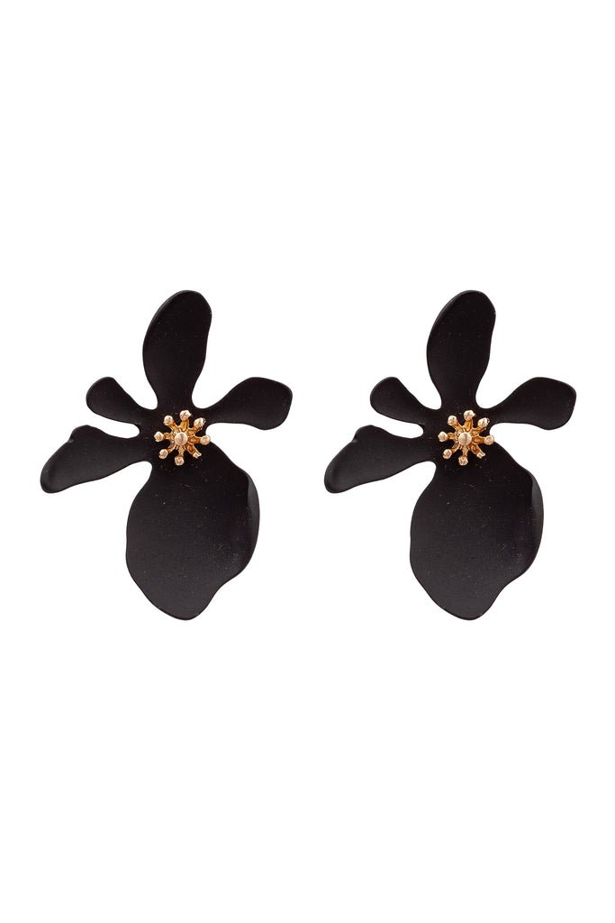 Georgia Earrings - Black
