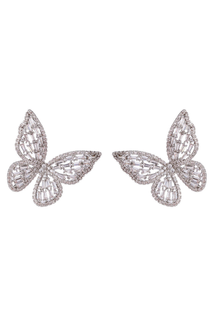Caludina Earrings - Silver