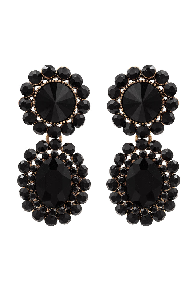 Aline Earrings - Black