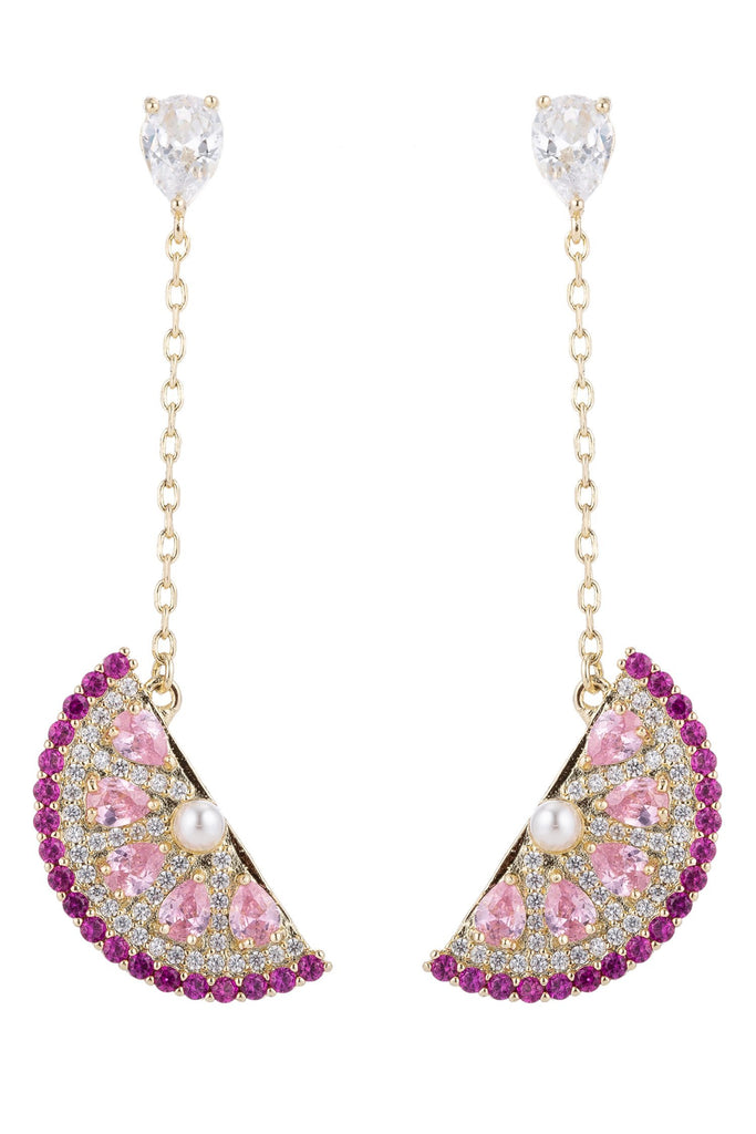 Citrus Earrings - Pink
