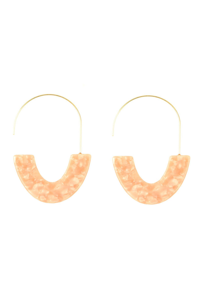 Camilla Earrings - Blush