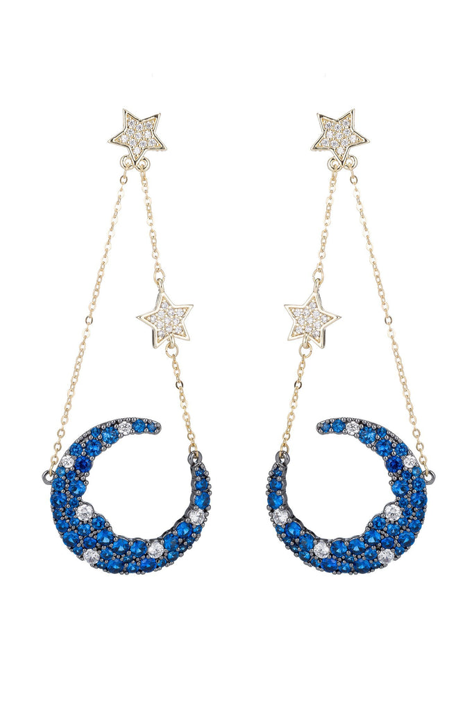 Nevaeh Earrings - Blue