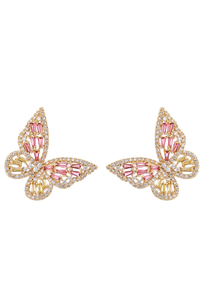 Caludina Earrings - Pink