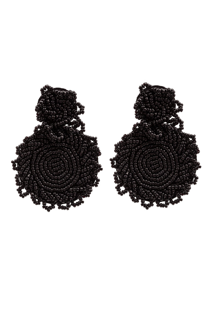 Portia Earrings - Black