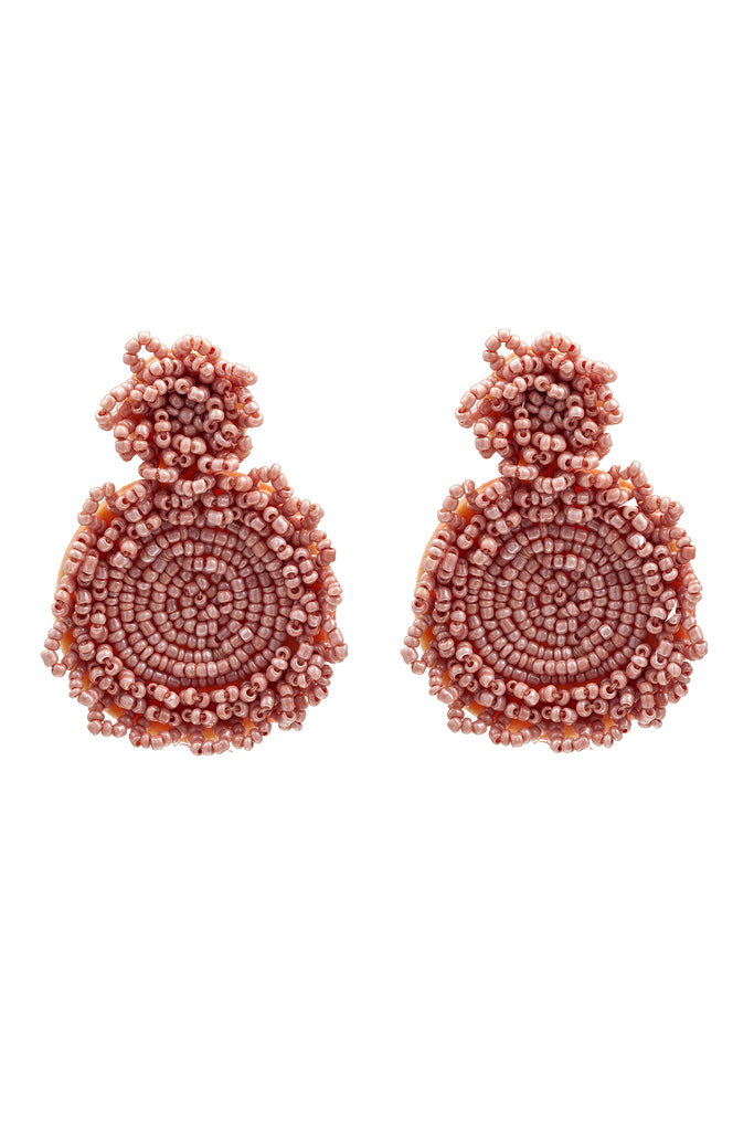 Portia Earrings - Pink