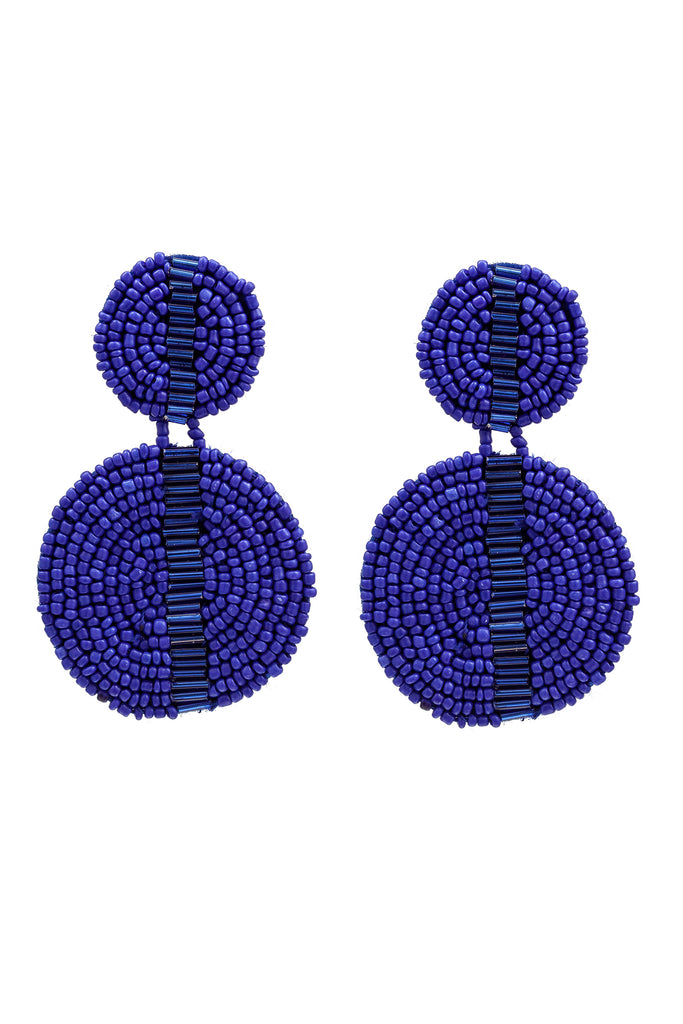 Luba Earrings - Blue