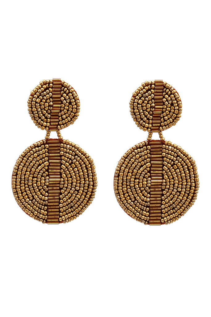 Luba Earrings - Bronze