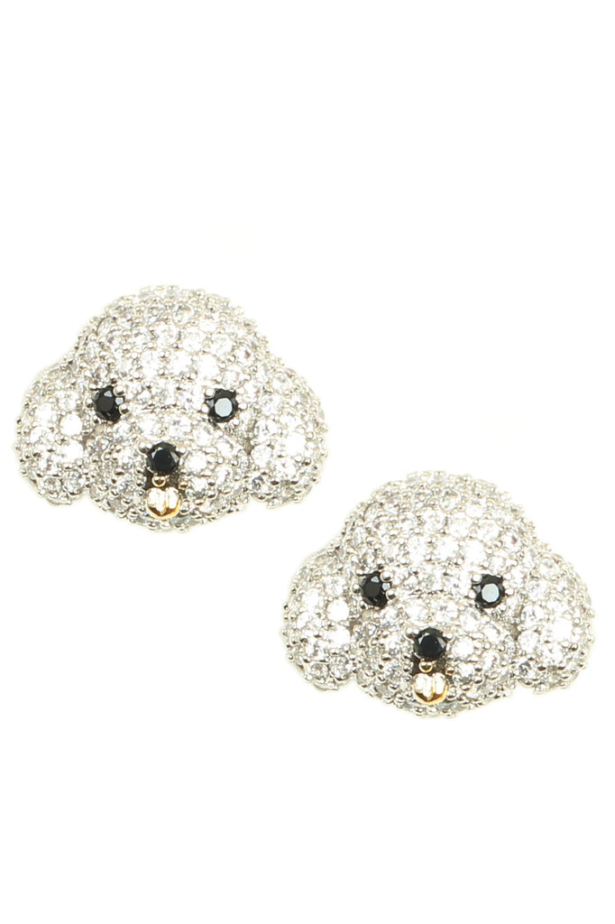 Bichon Earrings