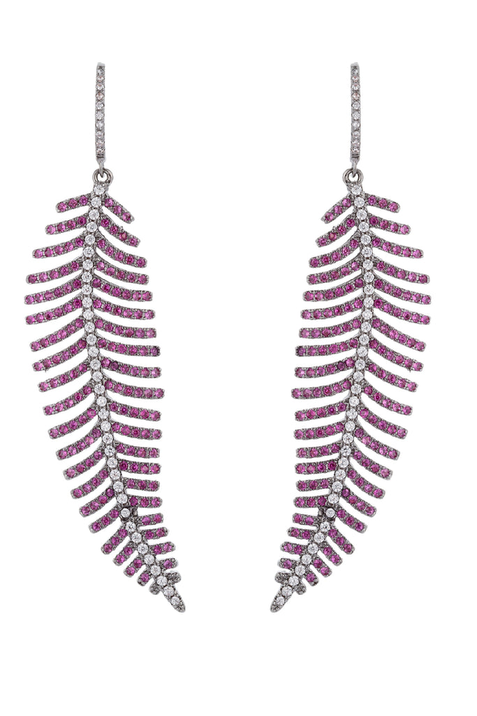 Caroline Earrings - Pink