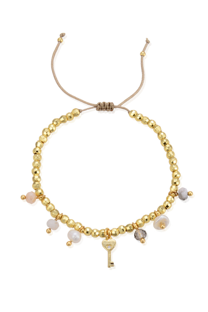 Yella Beaded Bracelet