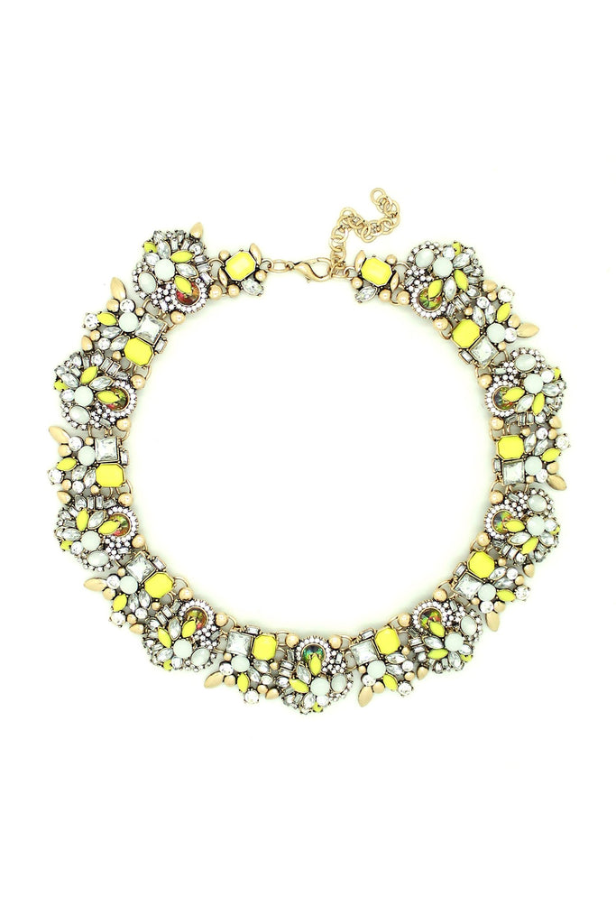 Sloane Necklace - Yellow