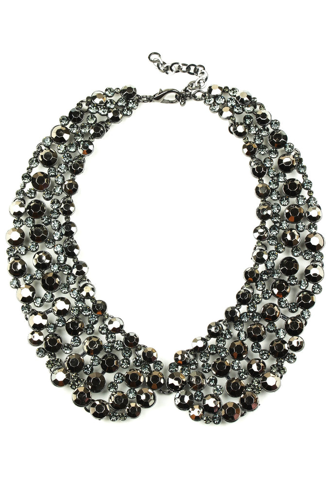 Diana Collar Necklace - Black