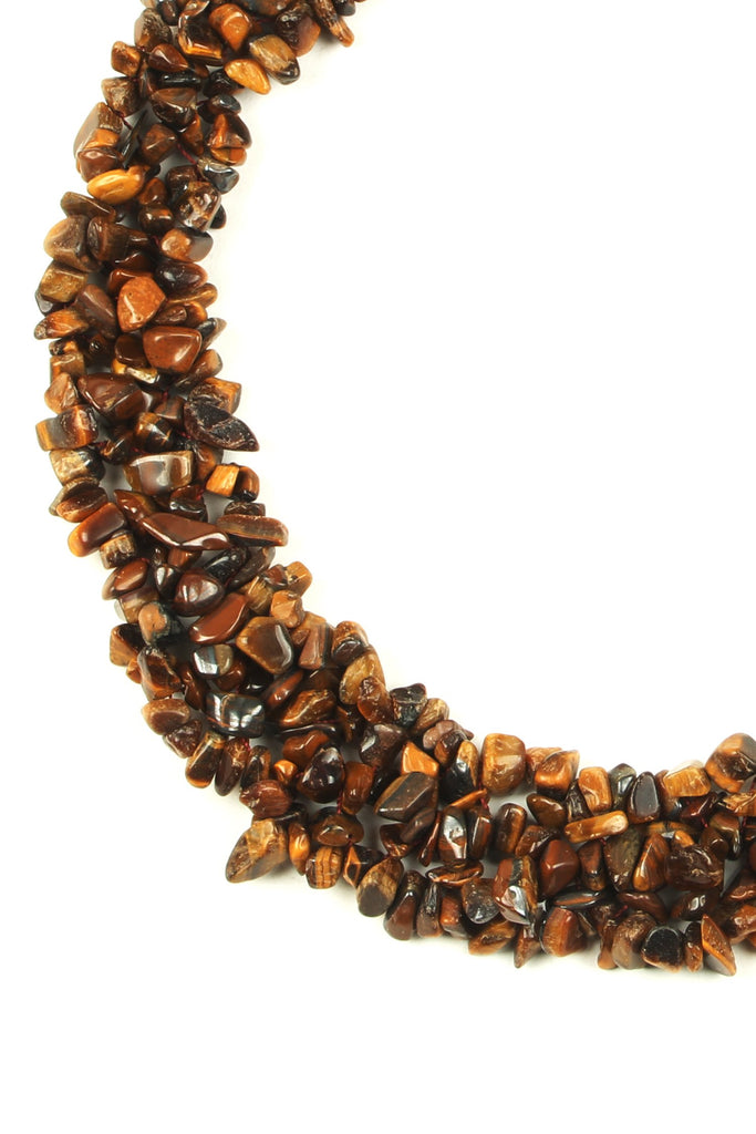 Remi Necklace - Tiger's Eye
