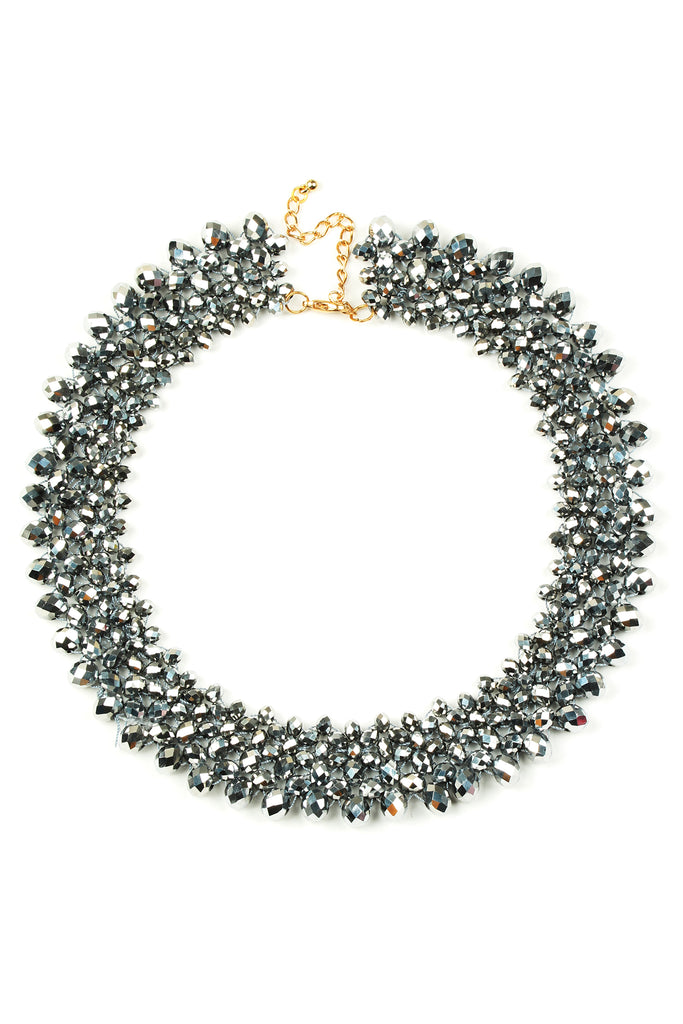 Anita Necklace - Charcoal