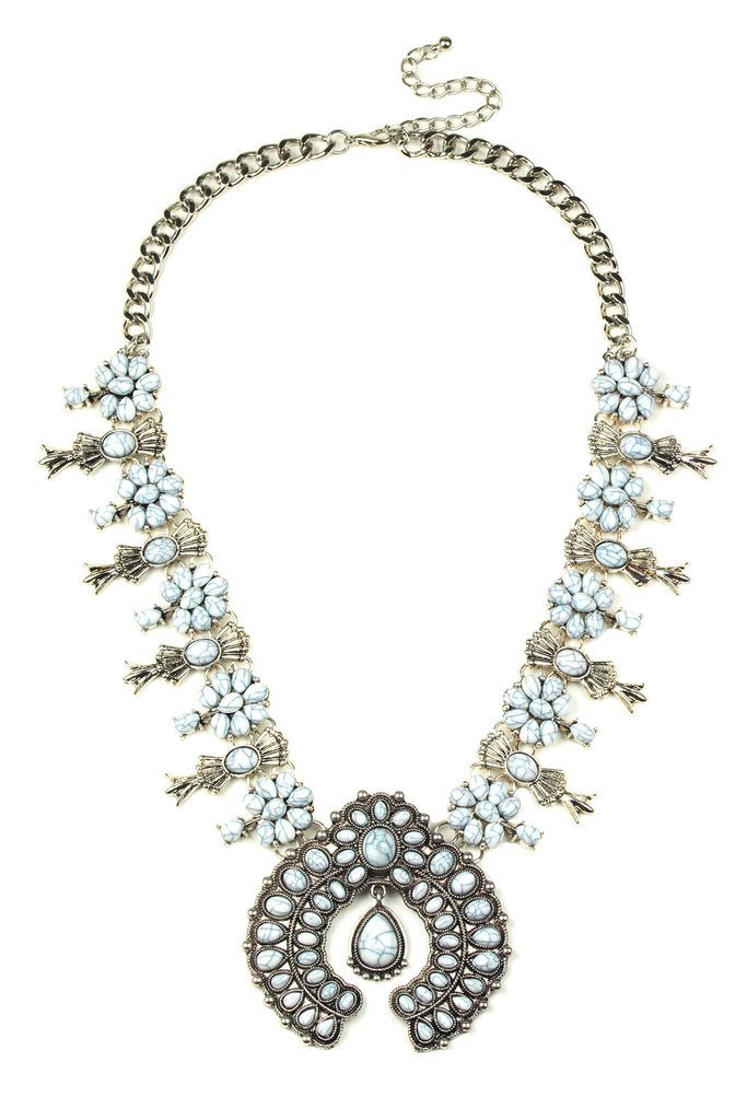 Esperanza Necklace - White