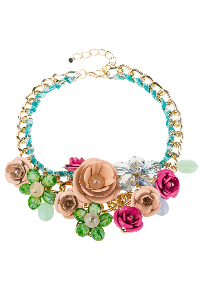 Bouquet Necklace - Blush