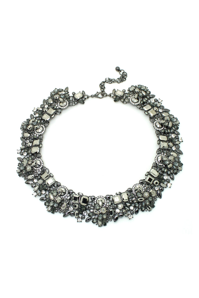 Sloane Necklace - Charcoal