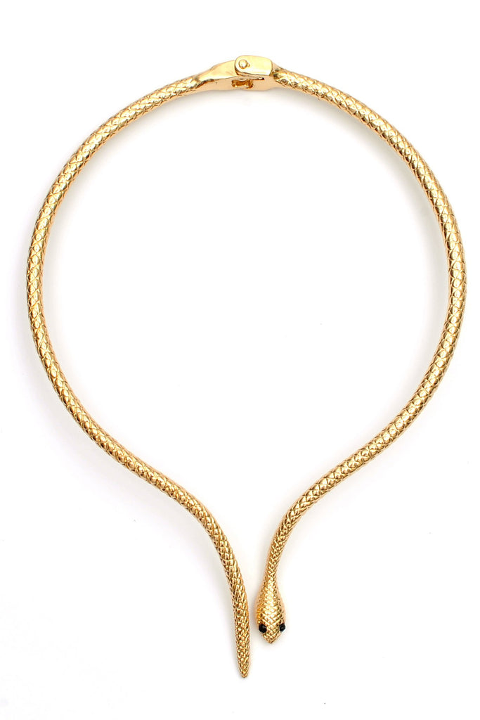 Viper Necklace - Gold