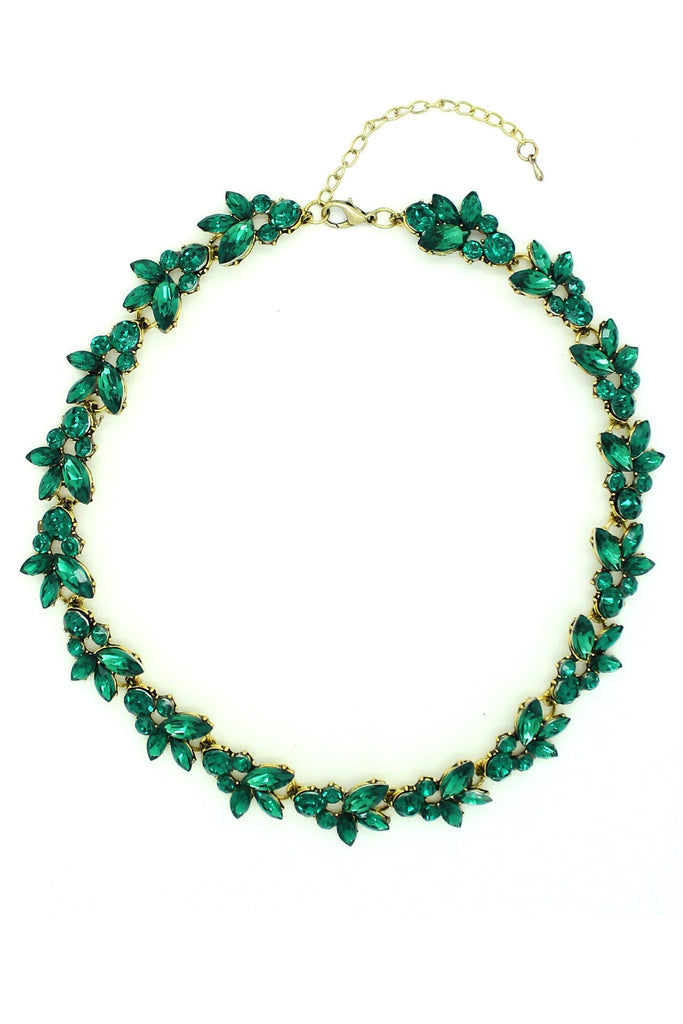 Hadley Necklace - Green