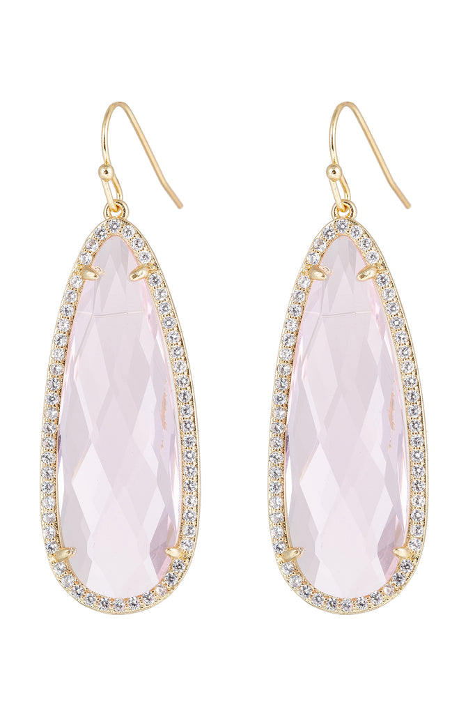 Matias Earrings - Pink