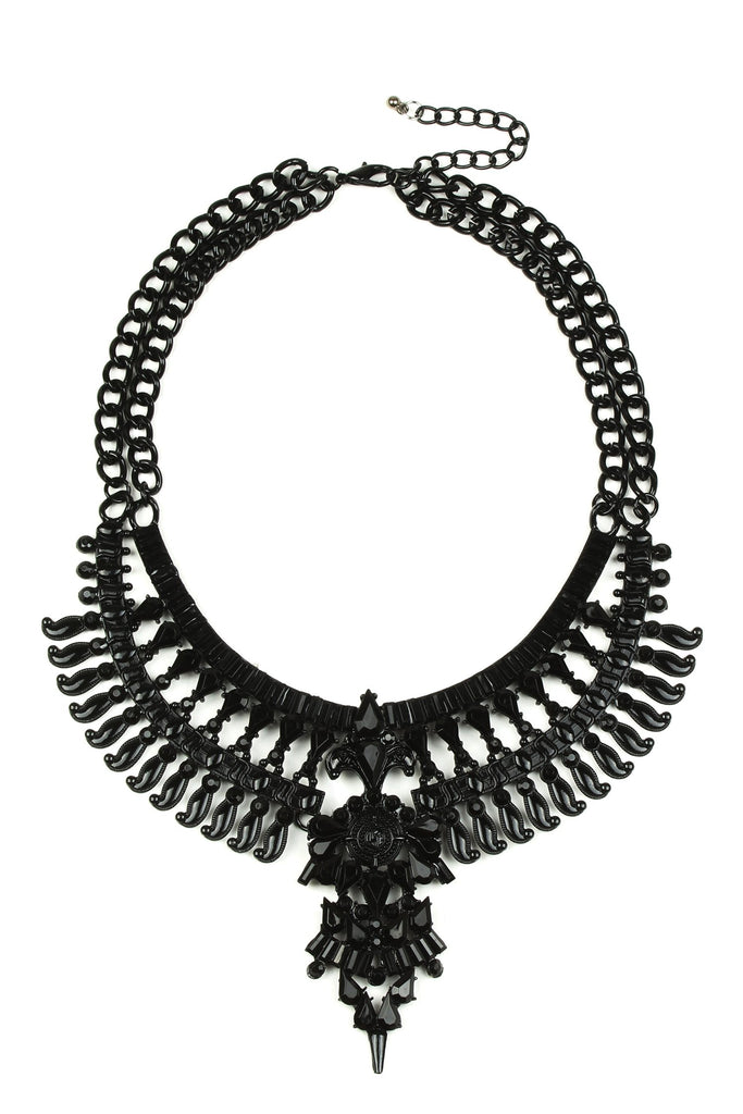 Nelly Necklace - Black