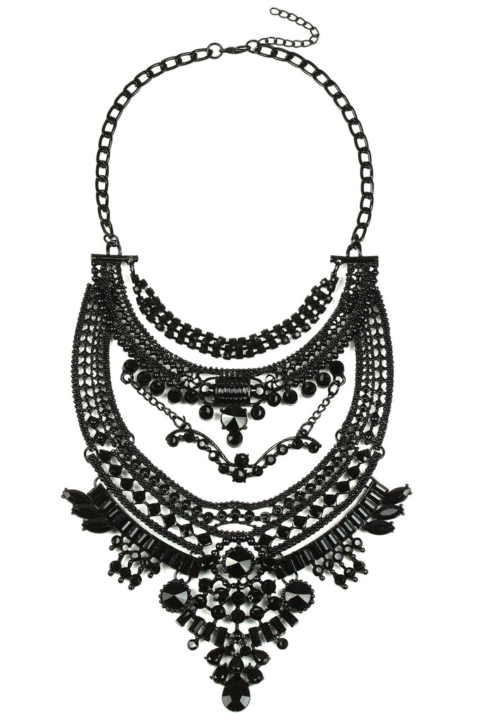 Oaklynn Necklace - Black