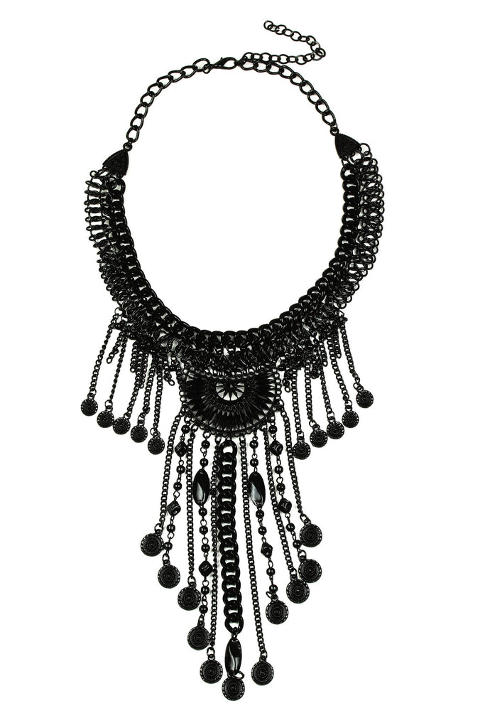 Kelley Necklace - Black