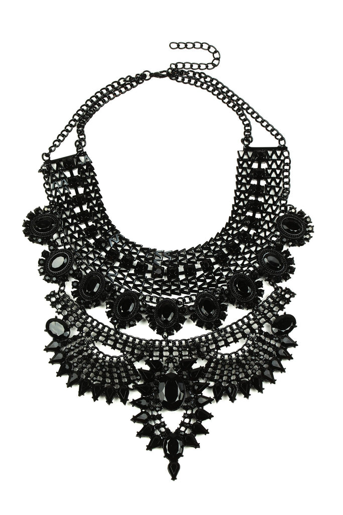 Zania Necklace - Black