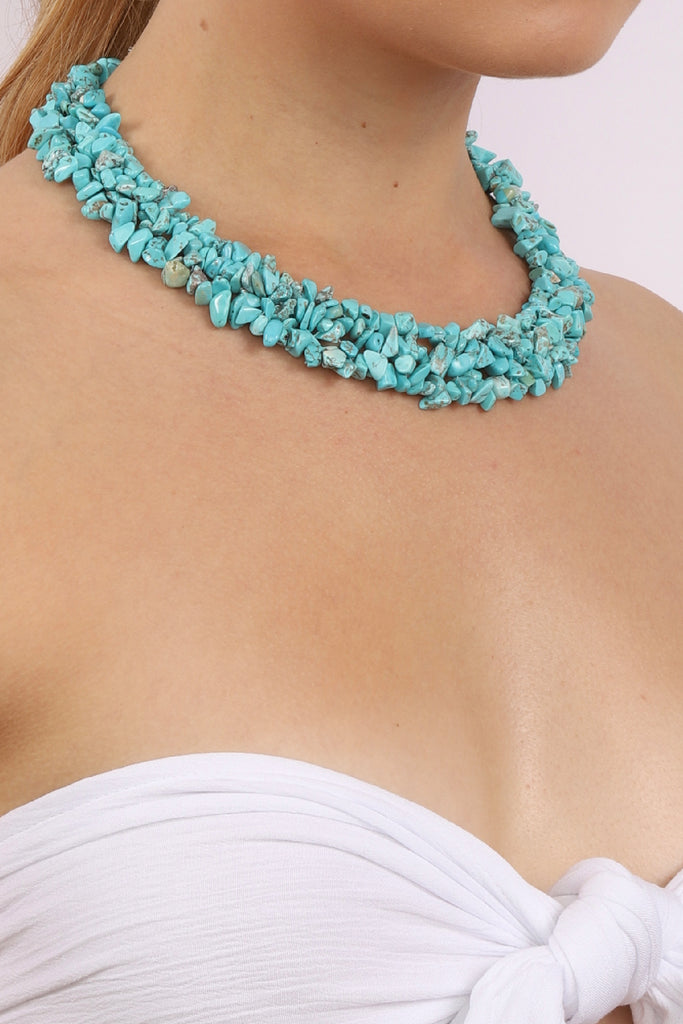 Remi Necklace - Turquoise