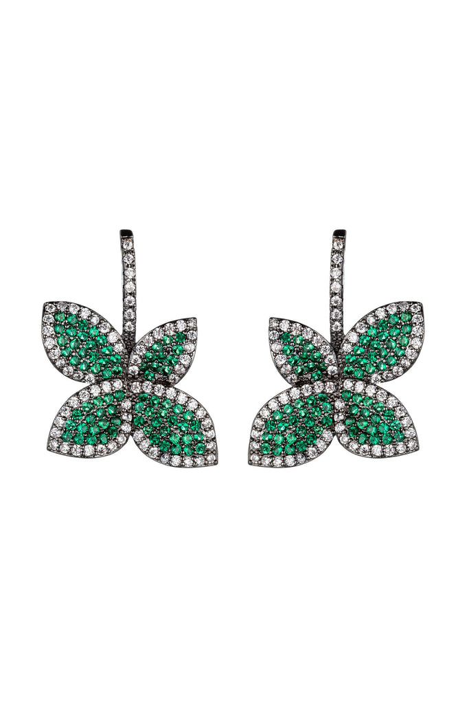 Agnes Earrings - Green