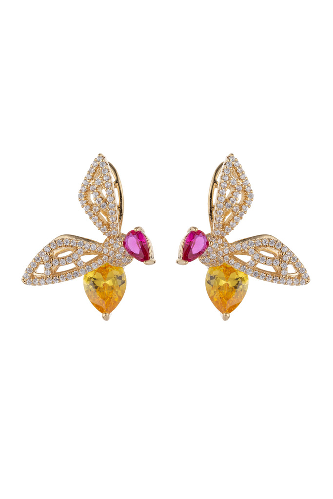 Faerie Earrings - Yellow