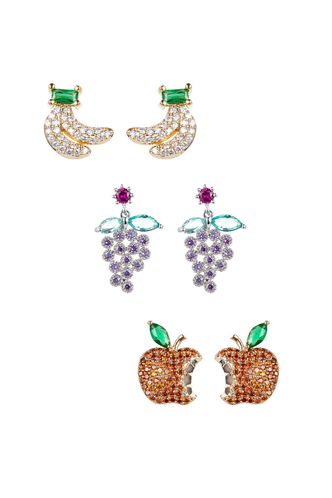 Fruit Punch Earring Set