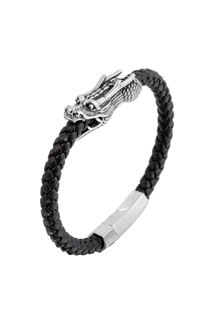 Lionel Dragon Bracelet - Black