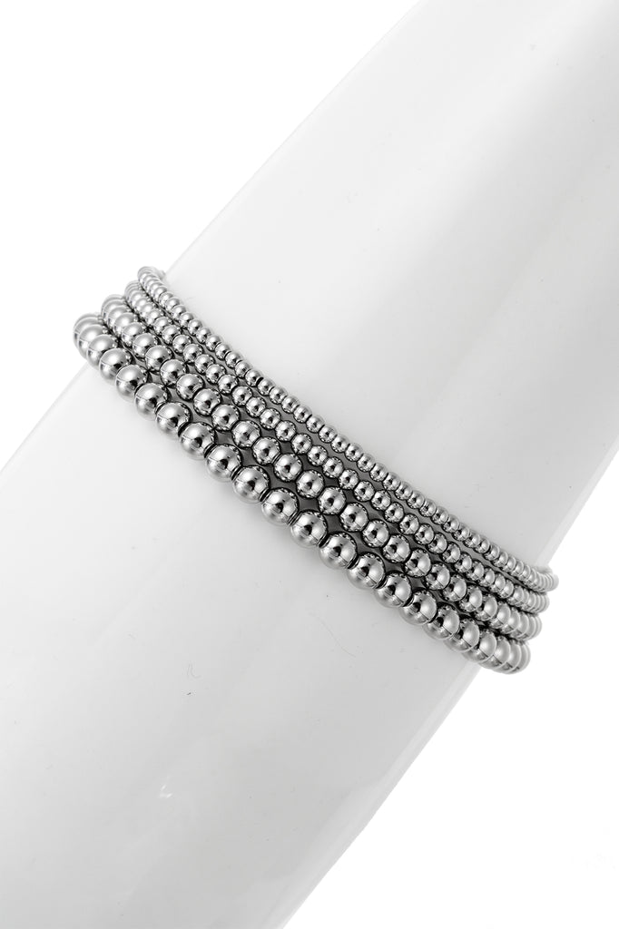 Jacob Bracelet Set - Silver