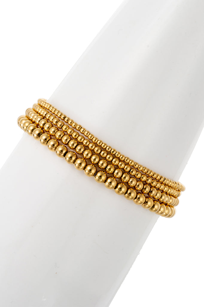 Jacob Bracelet Set - Gold