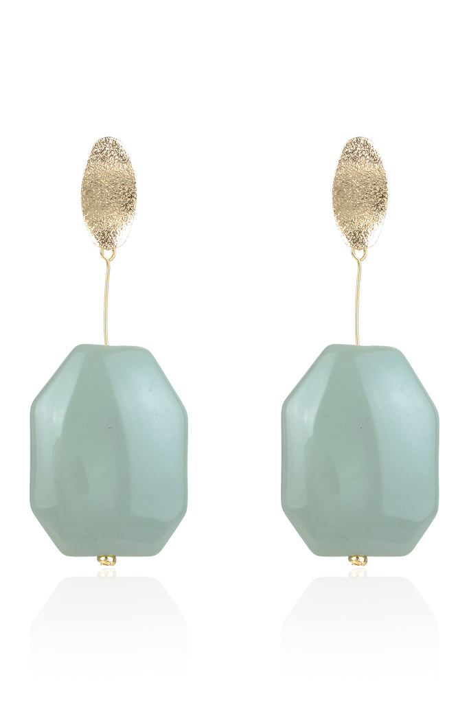 Annalee Earrings - Green