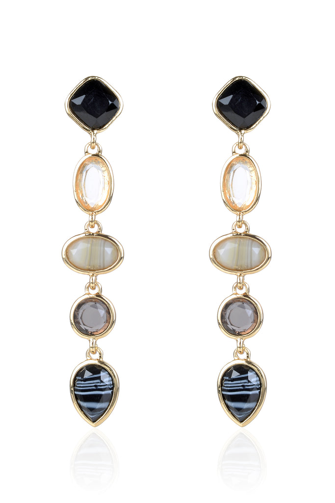 Briar Earrings - Black