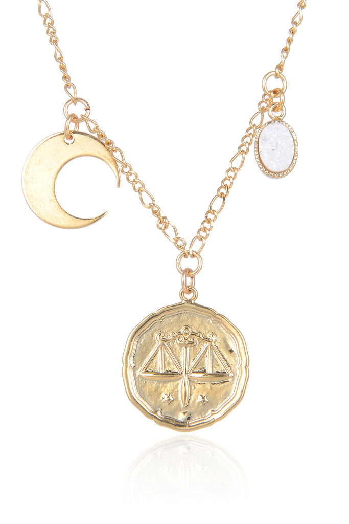Libra Moon Necklace