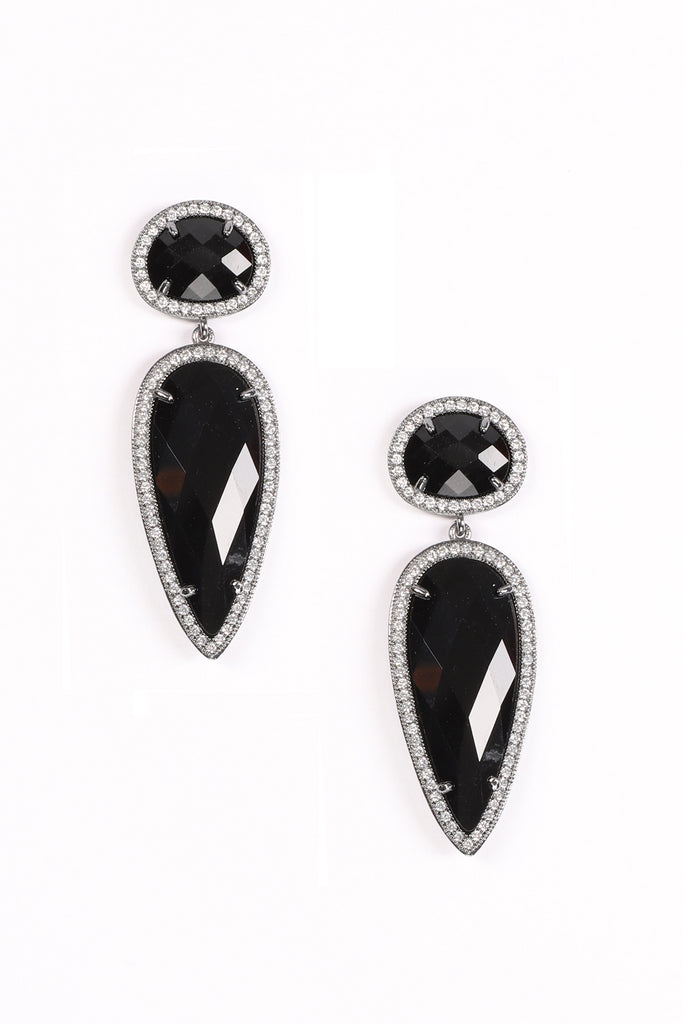 Asha Earrings - Black